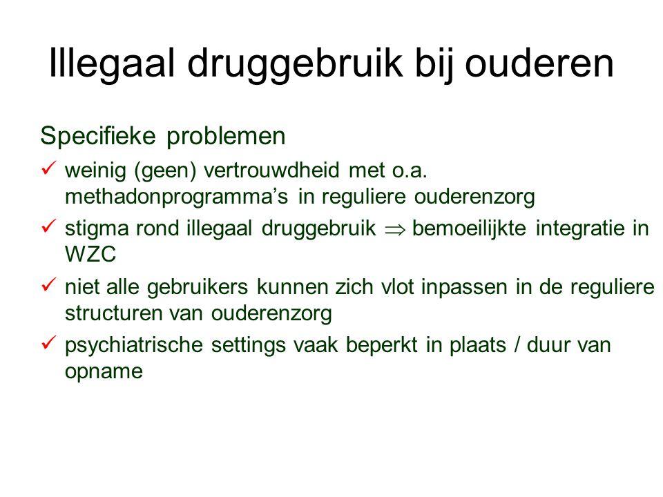 Illegaal druggebruik bij ouderen