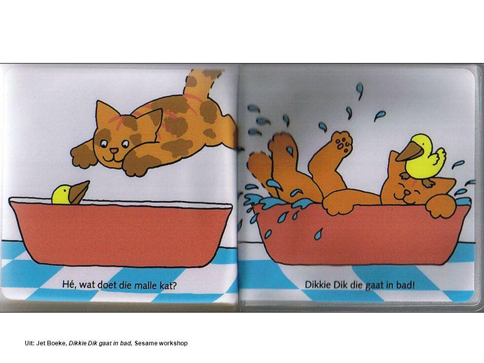 Uit: Jet Boeke, Dikkie Dik gaat in bad, Sesame workshop