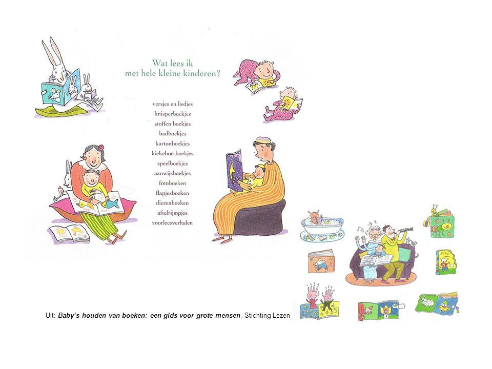 Uit: Baby's houden van boeken: een gids voor grote mensen, Stichting Lezen