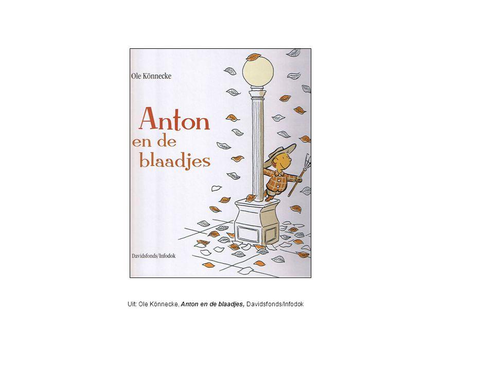 Uit: Ole Könnecke, Anton en de blaadjes, Davidsfonds/Infodok