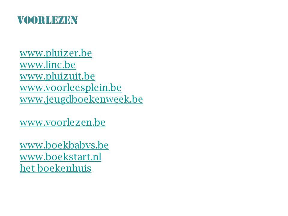 VOORLEZEN www.pluizer.be www.linc.be www.pluizuit.be