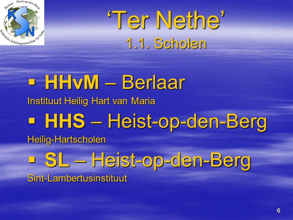 'Ter Nethe' 1.1. Scholen HHvM – Berlaar HHS – Heist-op-den-Berg