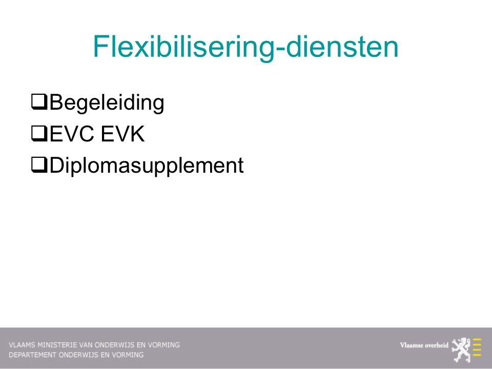 Flexibilisering-diensten