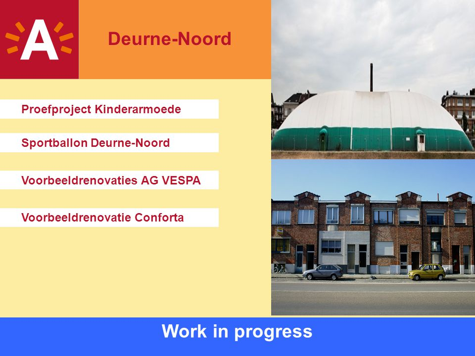 Deurne-Noord Work in progress