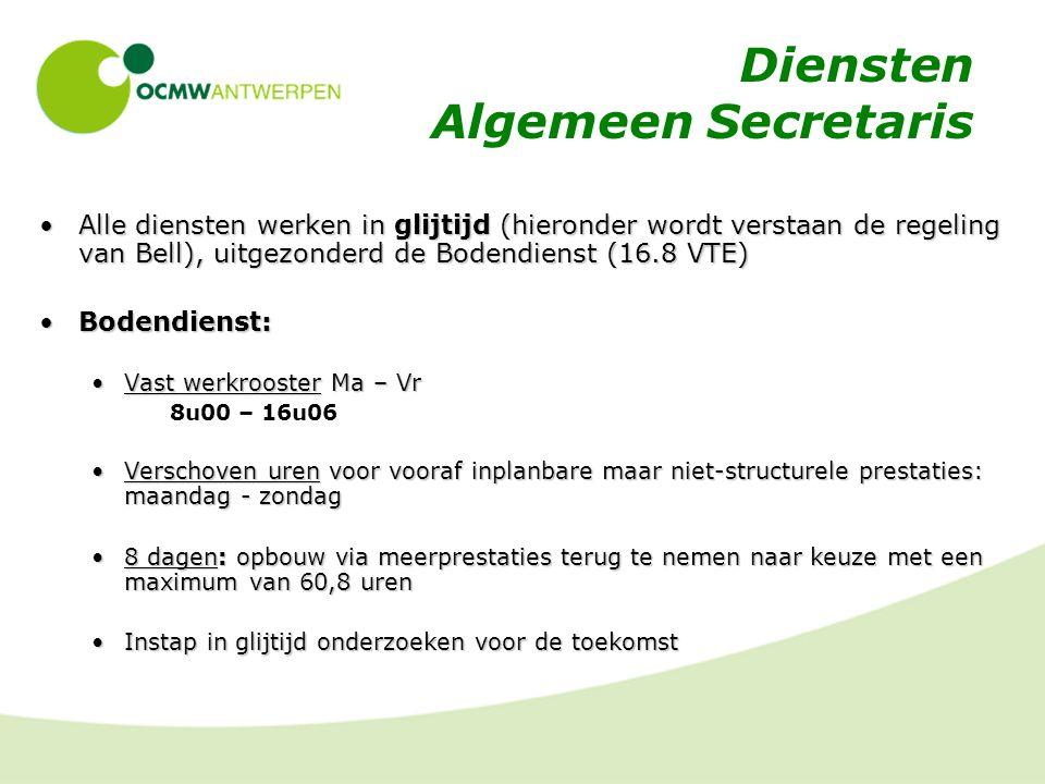 Diensten Algemeen Secretaris