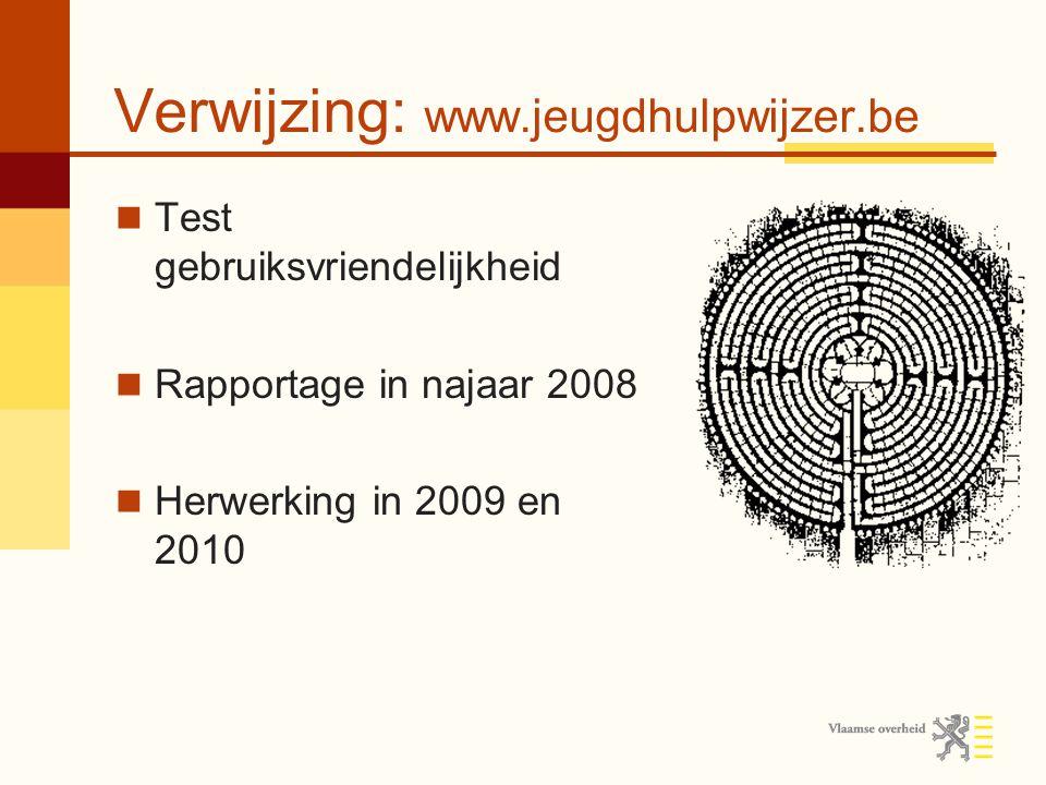 Verwijzing: www.jeugdhulpwijzer.be