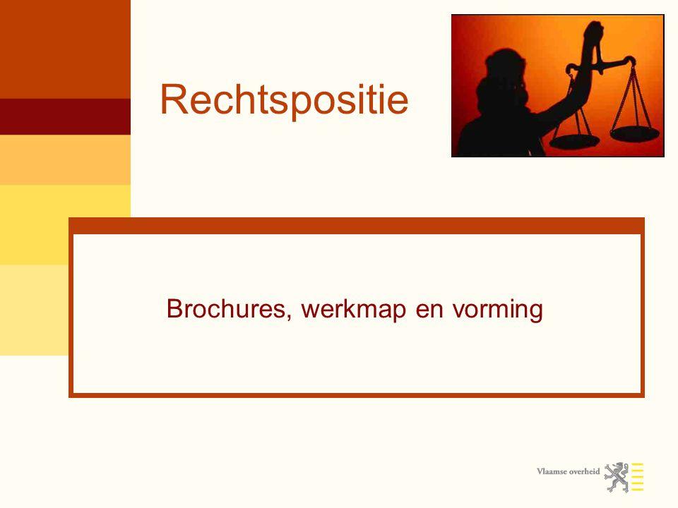 Brochures, werkmap en vorming