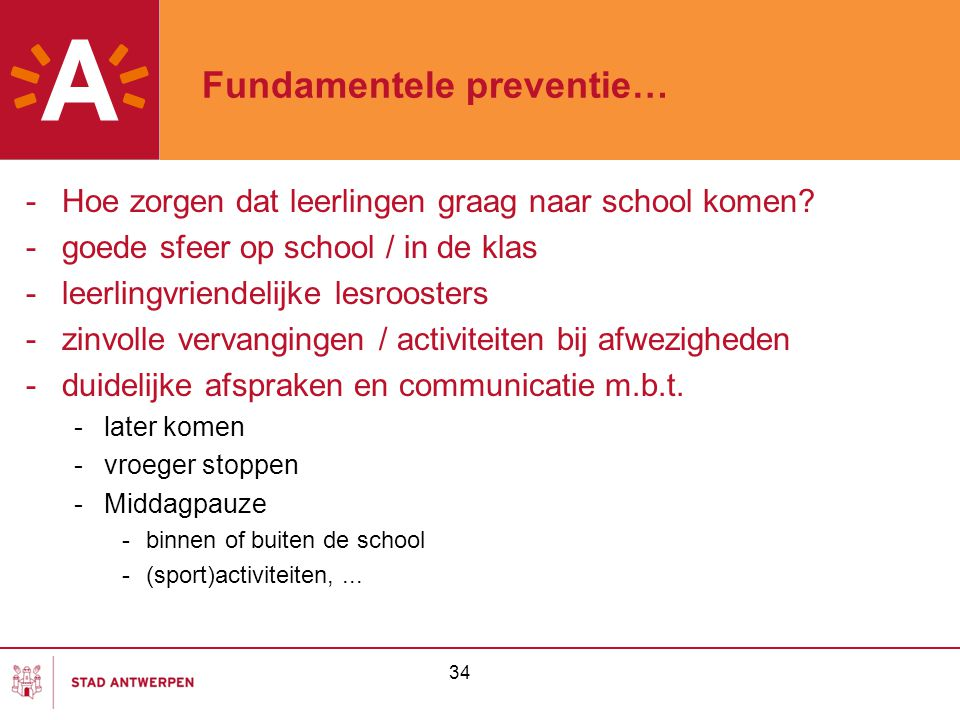 Fundamentele preventie…