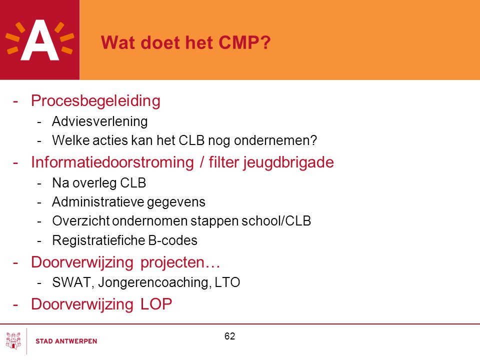 Wat doet het CMP Procesbegeleiding