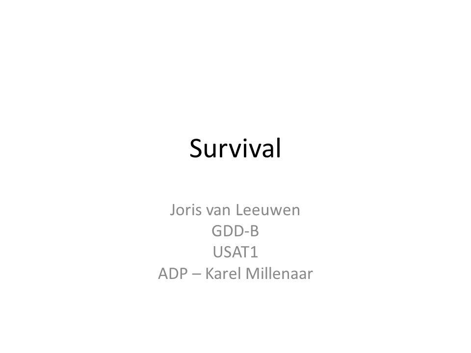 Joris van Leeuwen GDD-B USAT1 ADP – Karel Millenaar