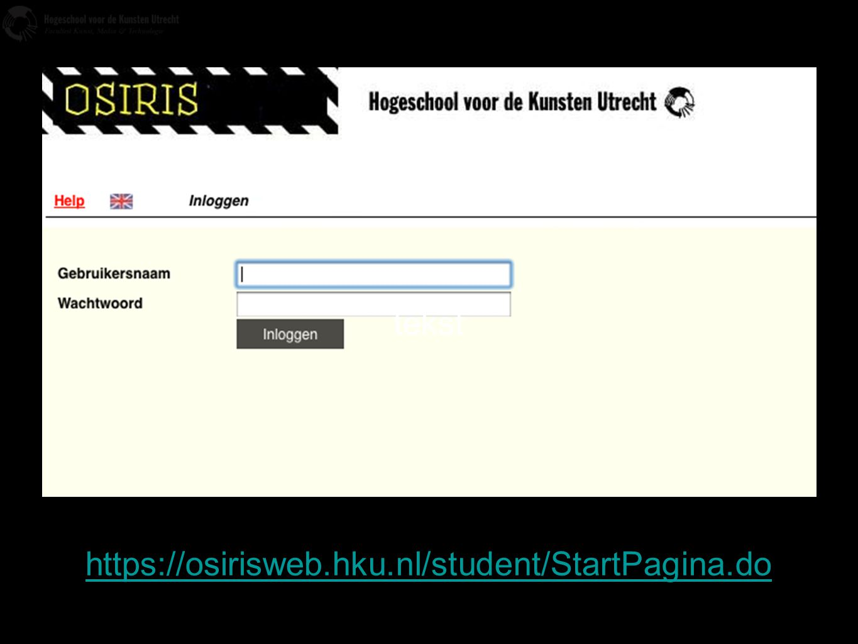 tekst https://osirisweb.hku.nl/student/StartPagina.do