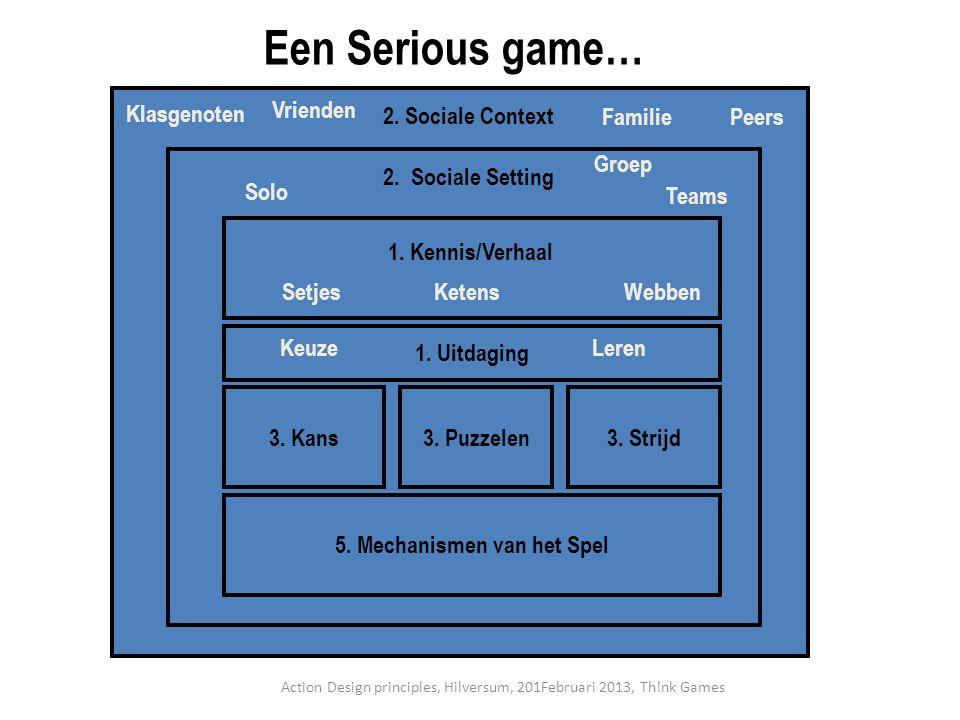 5. Mechanismen van het Spel