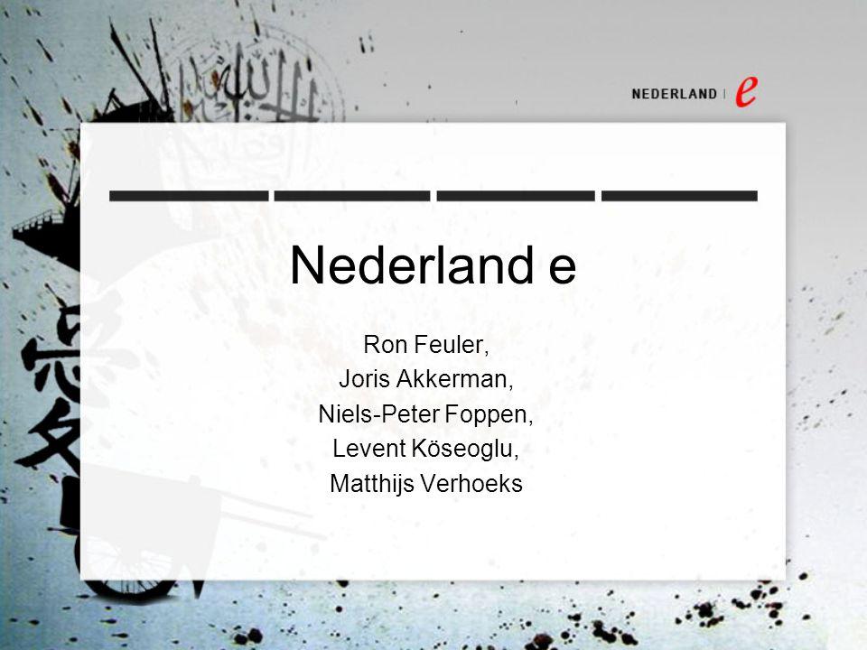 Nederland e Ron Feuler, Joris Akkerman, Niels-Peter Foppen,