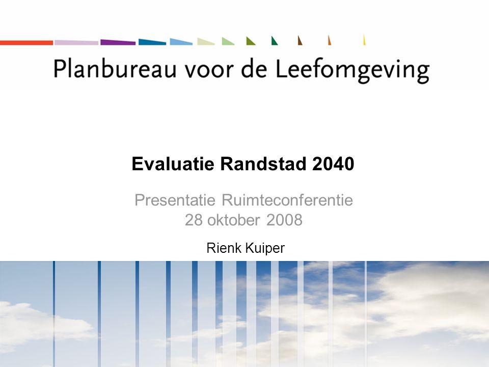 Presentatie Ruimteconferentie 28 oktober 2008