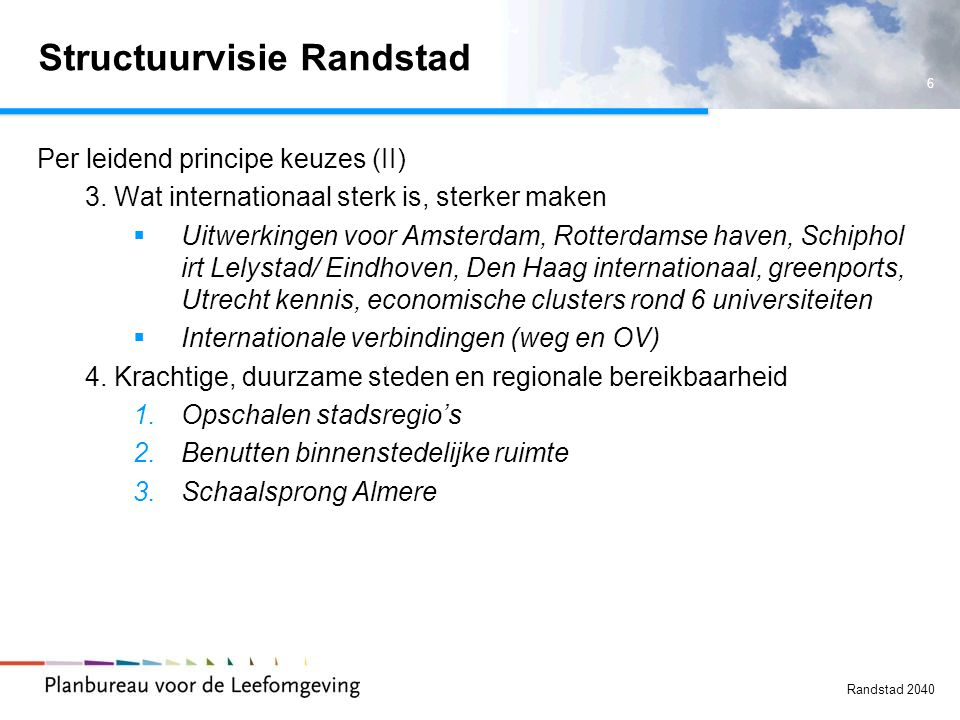 Structuurvisie Randstad