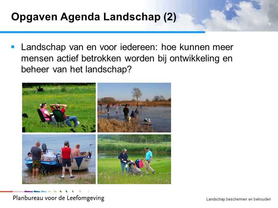 Opgaven Agenda Landschap (2)