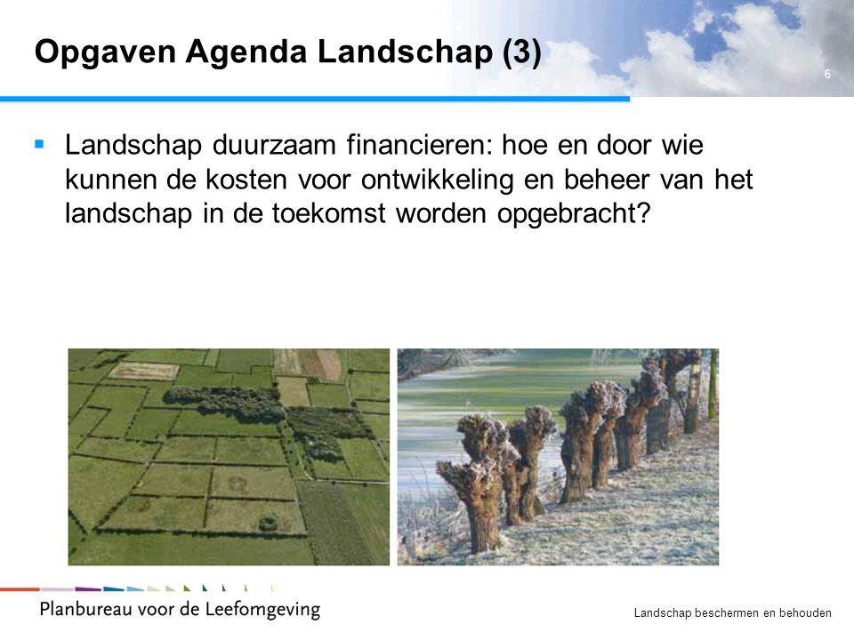 Opgaven Agenda Landschap (3)