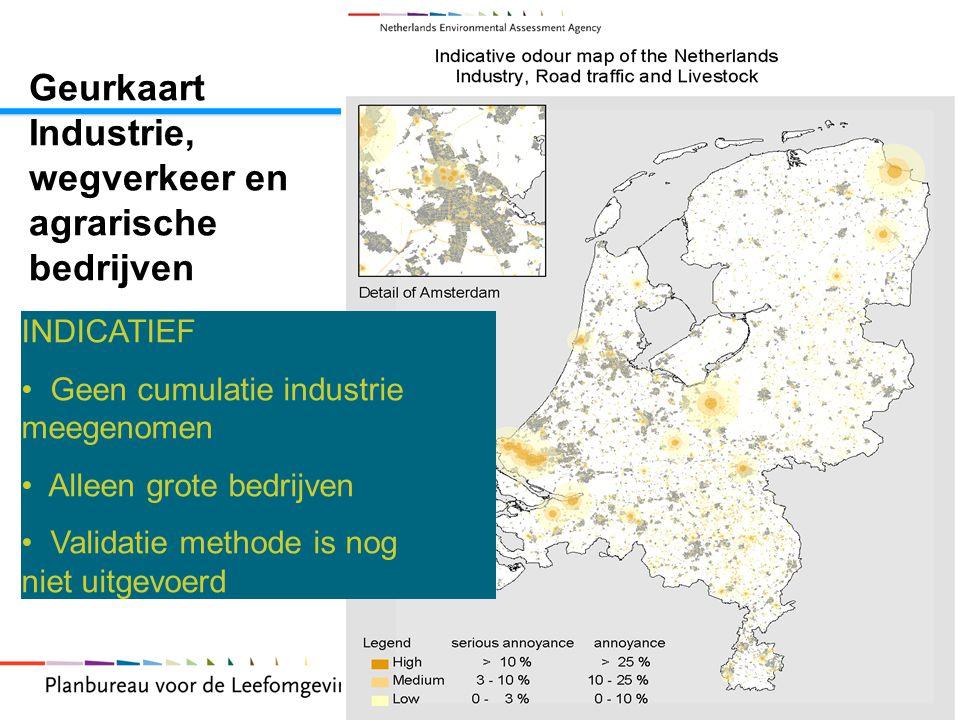 Geurkaart Industrie, wegverkeer en agrarische bedrijven