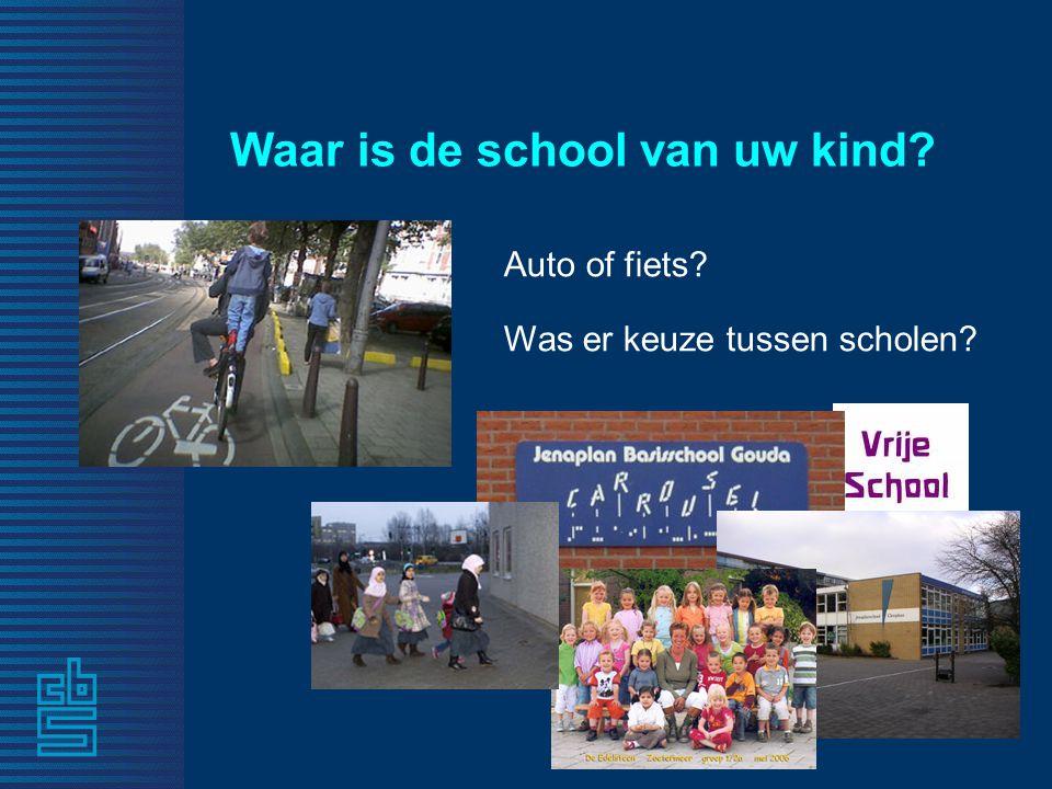 Waar is de school van uw kind