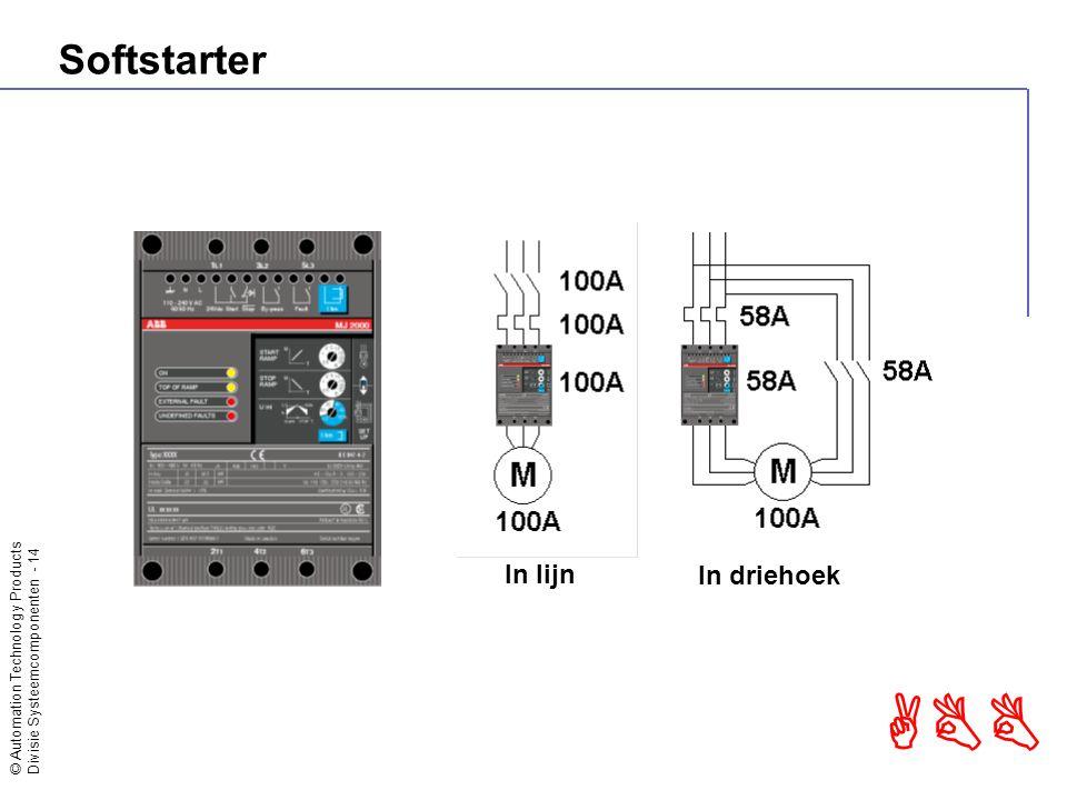 Softstarter In lijn In driehoek