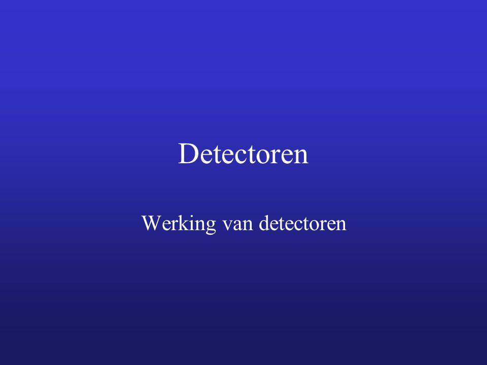 Werking van detectoren