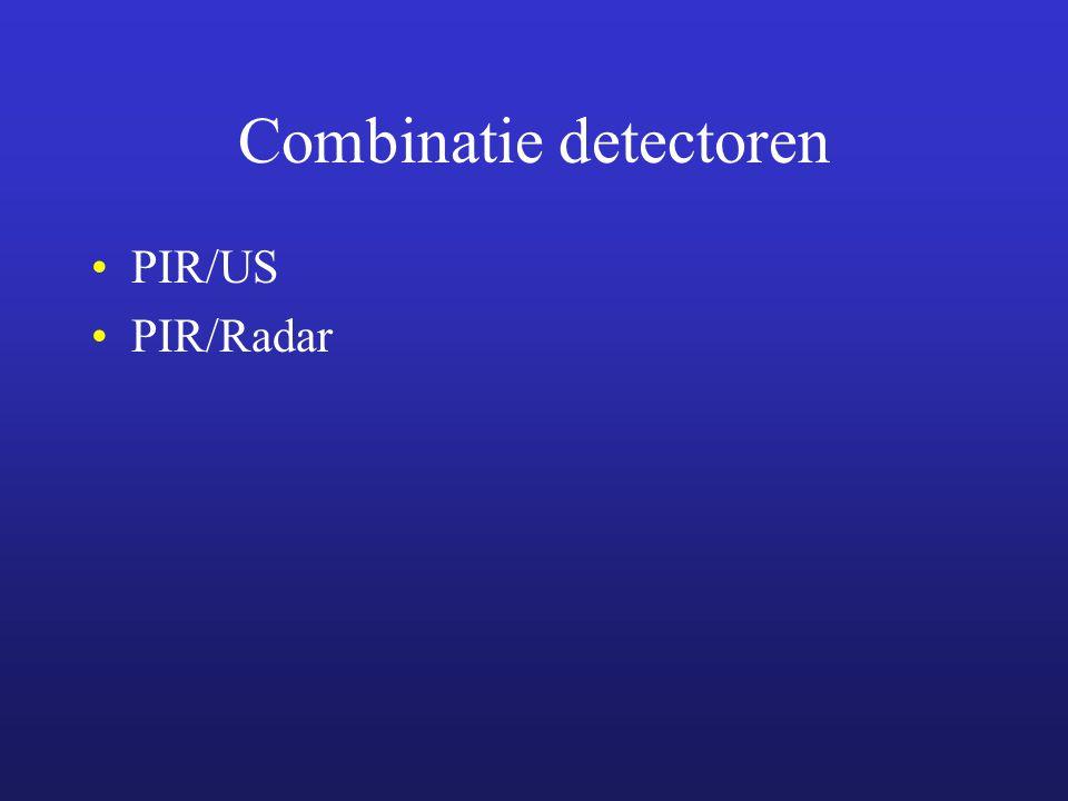 Combinatie detectoren