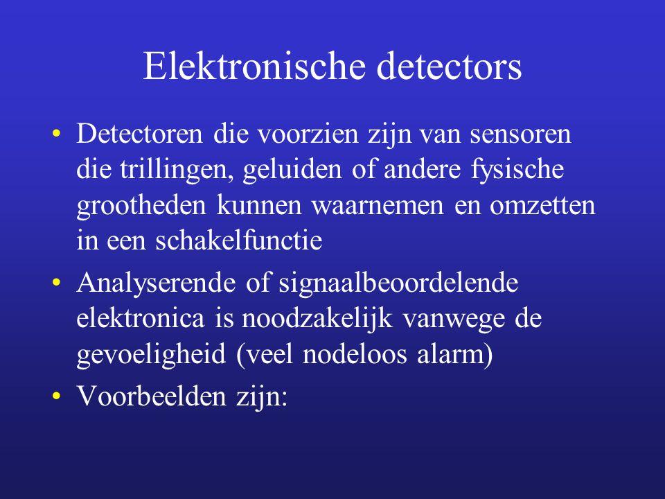 Elektronische detectors