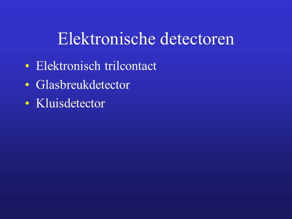 Elektronische detectoren