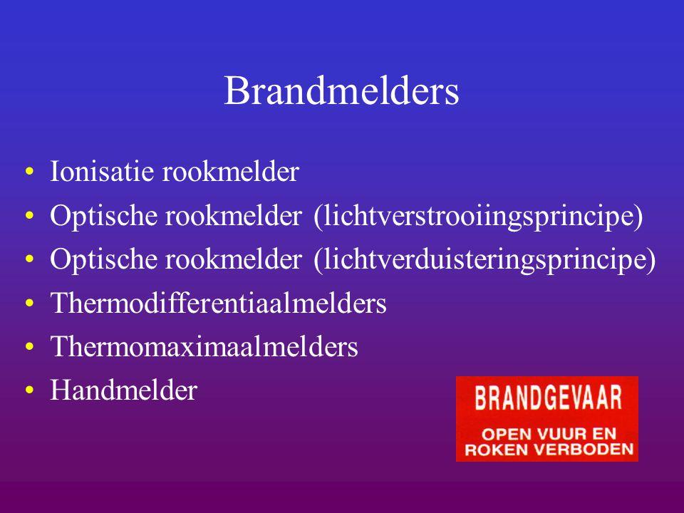 Brandmelders Ionisatie rookmelder
