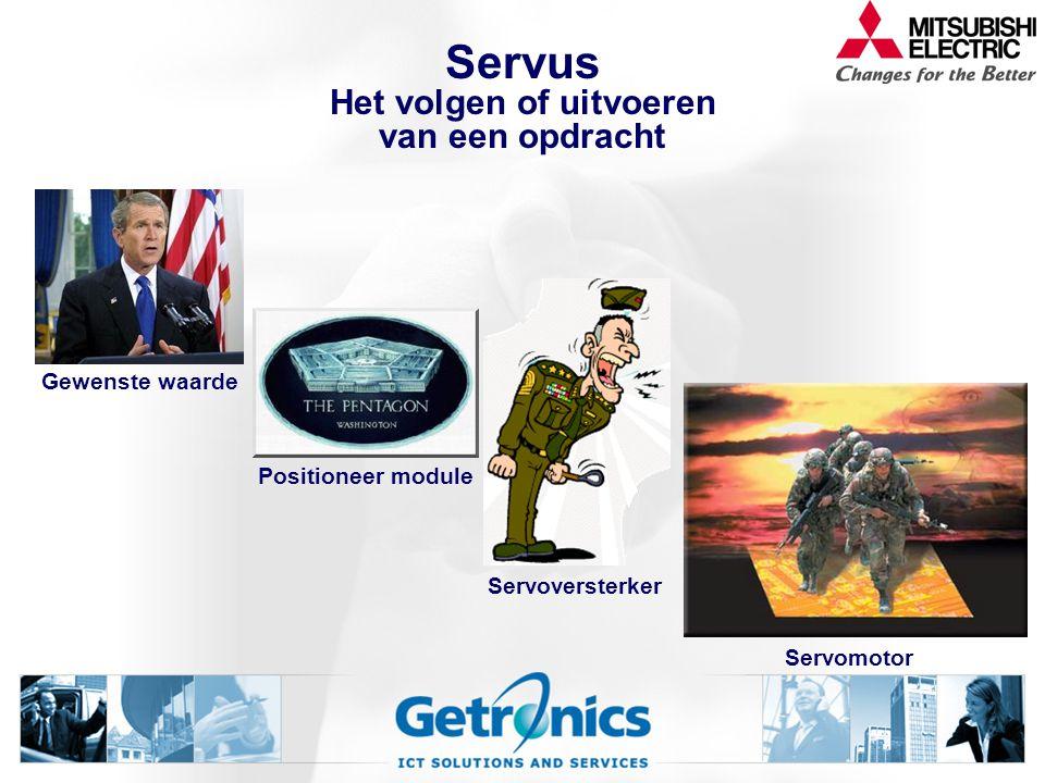 Servus Het volgen of uitvoeren van een opdracht