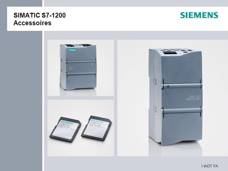 SIMATIC S7-1200 Accessoires