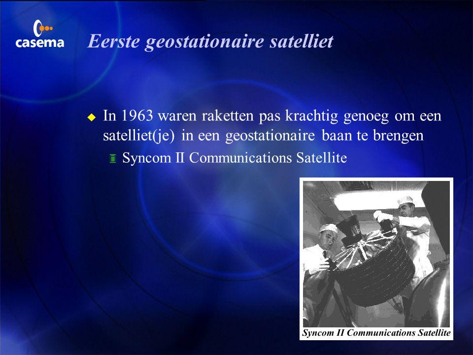 Eerste geostationaire satelliet
