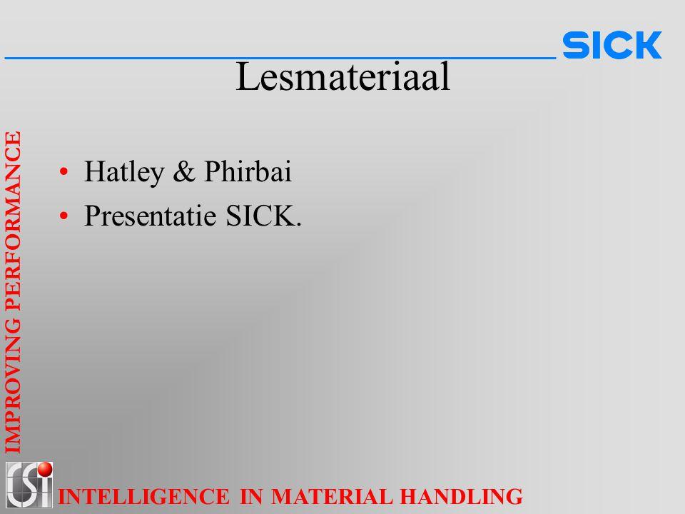 Lesmateriaal Hatley & Phirbai Presentatie SICK.