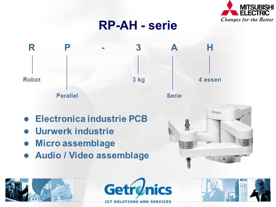 RP-AH - serie R P - 3 A H Electronica industrie PCB Uurwerk industrie