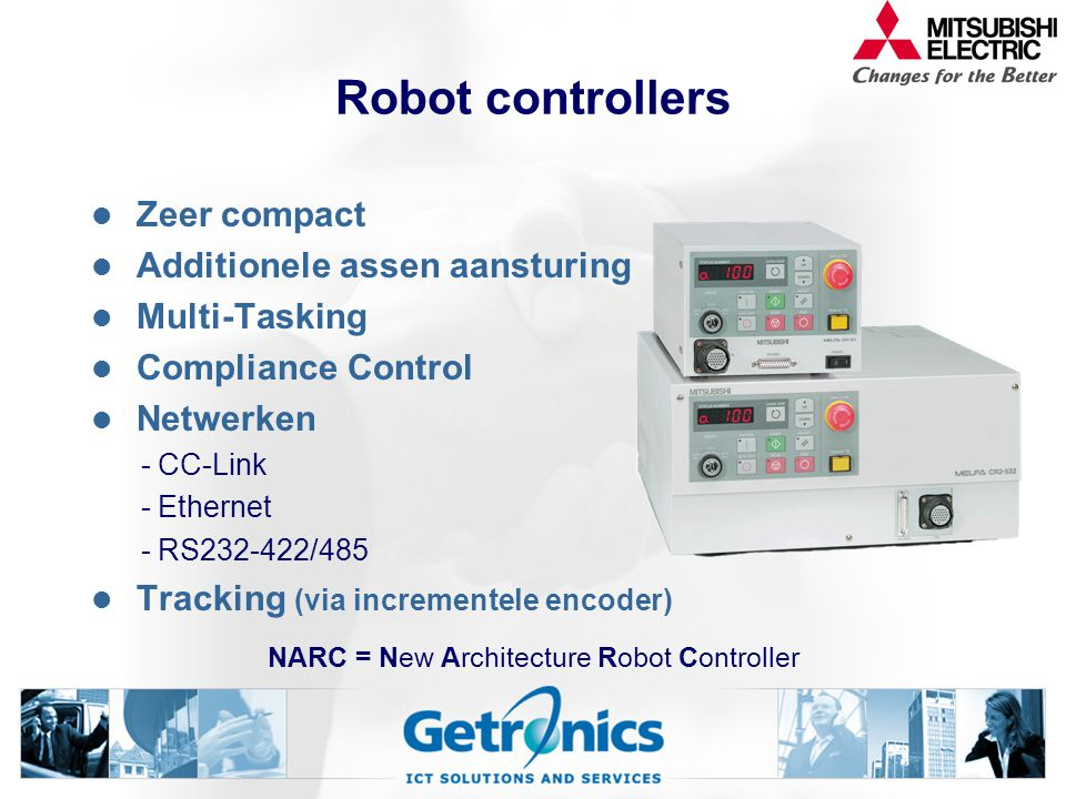 NARC = New Architecture Robot Controller
