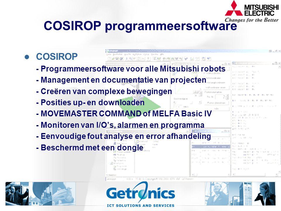 COSIROP programmeersoftware