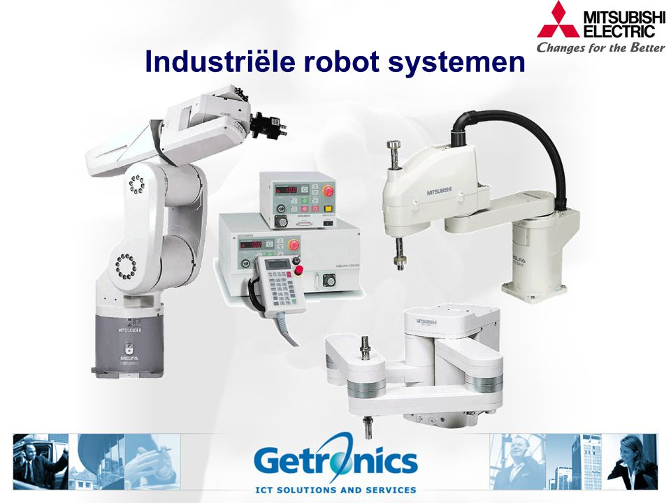 Industriële robot systemen