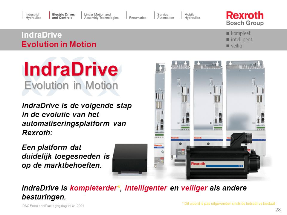 IndraDrive Evolution in Motion