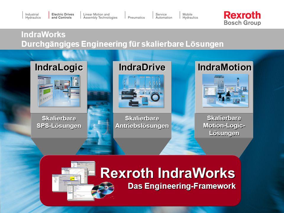 IndraWorks Durchgängiges Engineering für skalierbare Lösungen