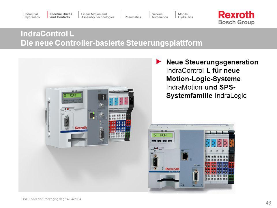 IndraControl L Die neue Controller-basierte Steuerungsplattform