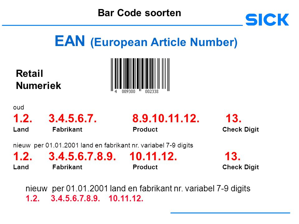 EAN (European Article Number)