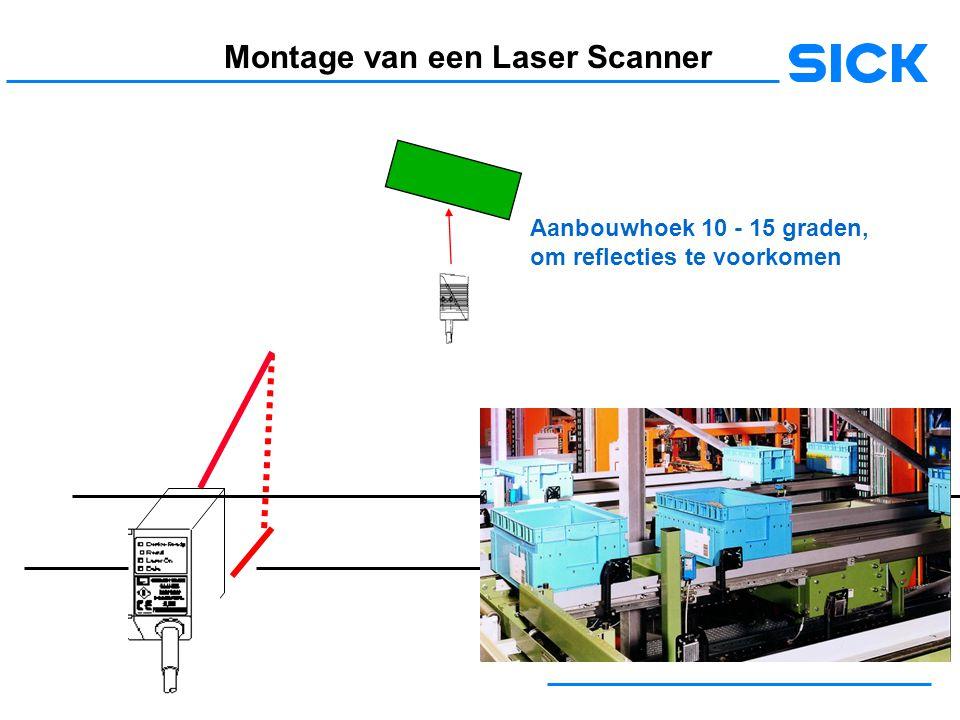 Montage van een Laser Scanner