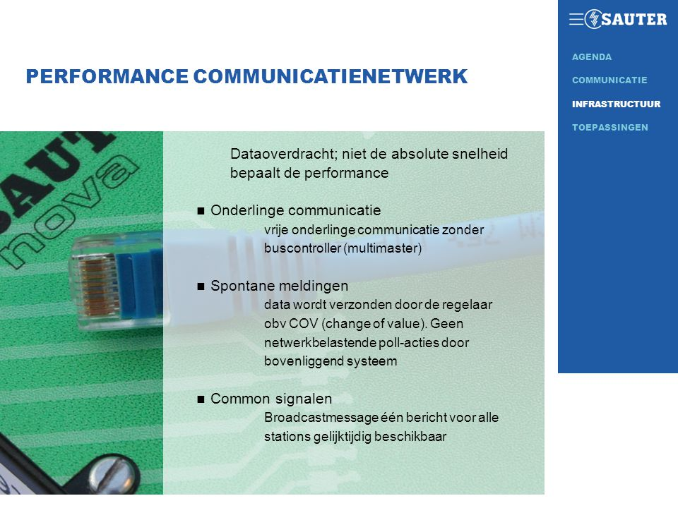 PERFORMANCE COMMUNICATIENETWERK