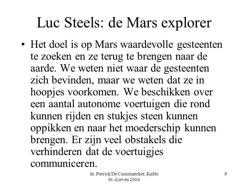 Luc Steels: de Mars explorer