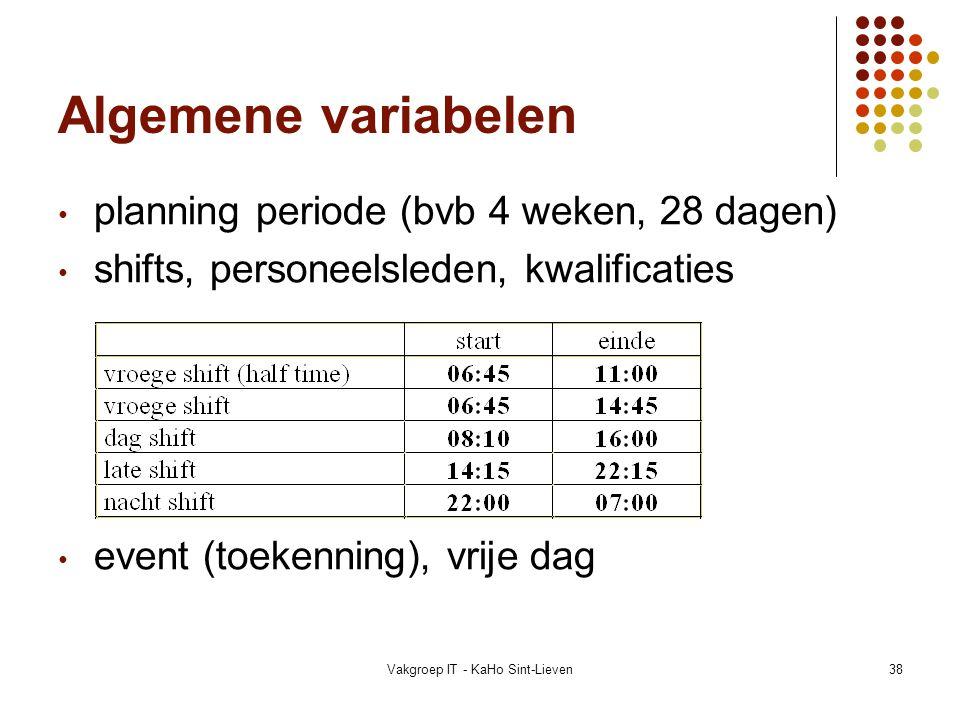Vakgroep IT - KaHo Sint-Lieven