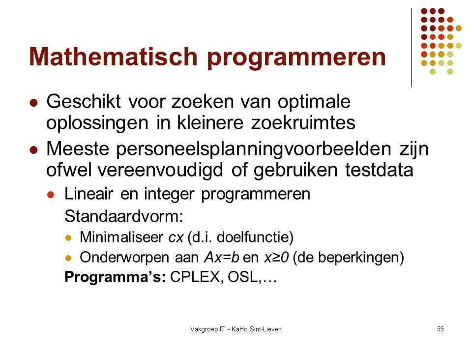 Mathematisch programmeren