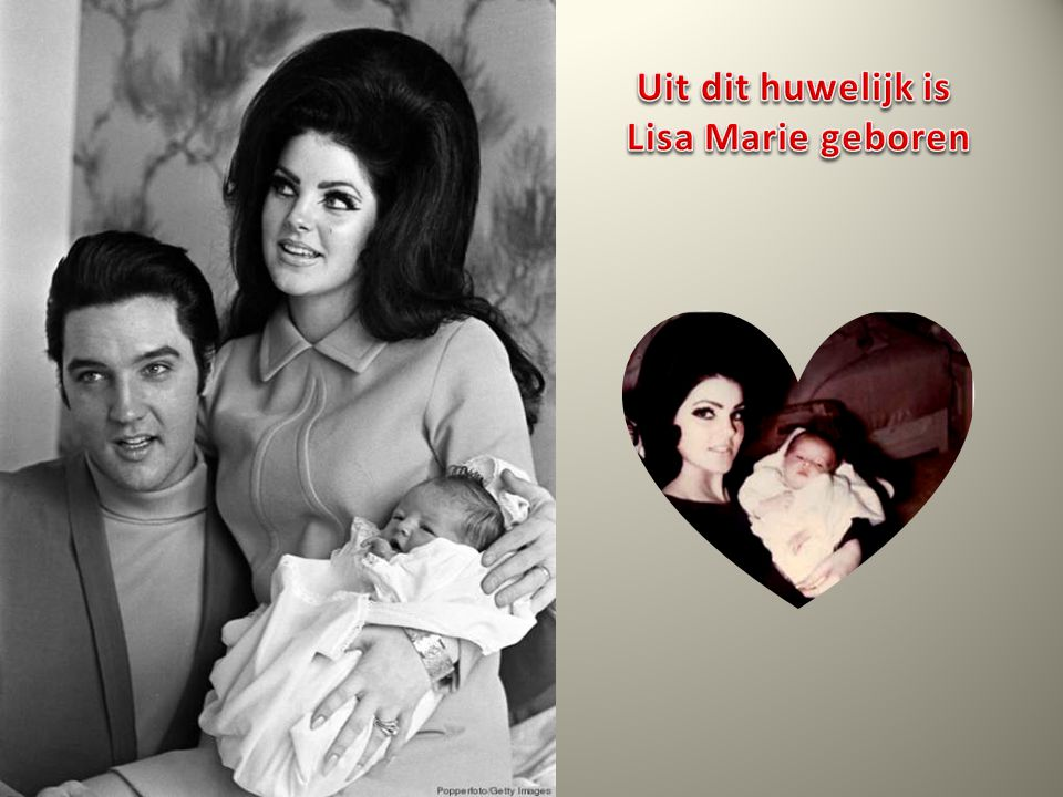 Uit dit huwelijk is Lisa Marie geboren