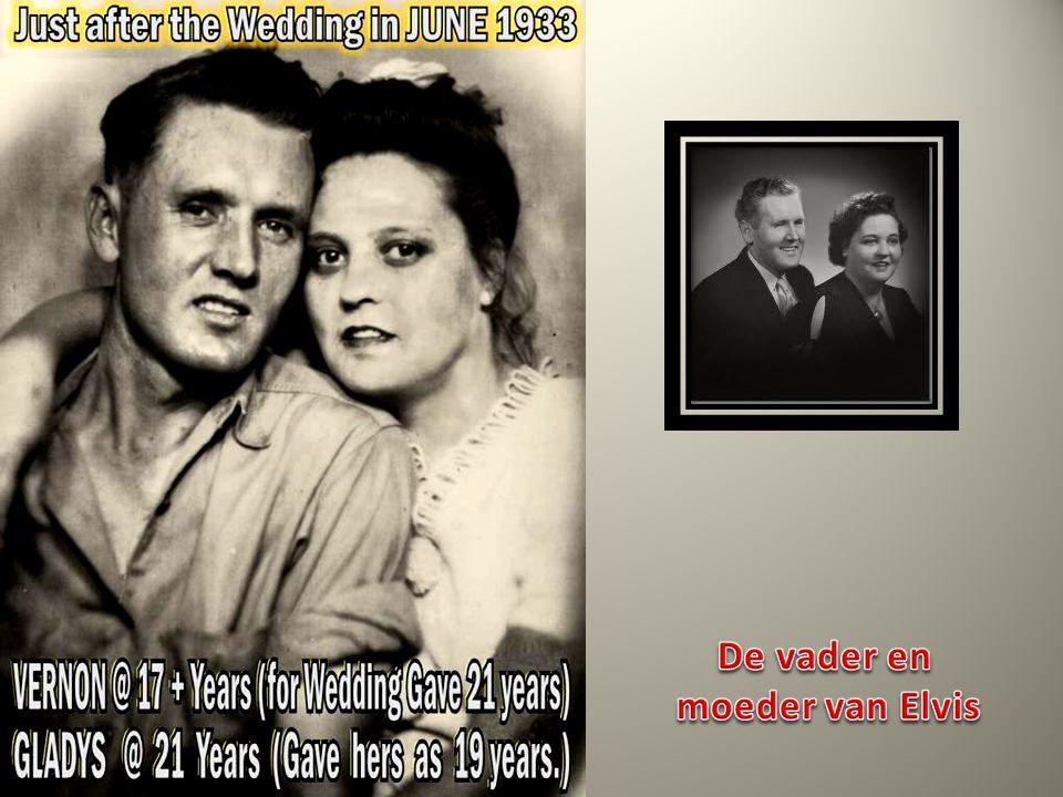 De vader en moeder van Elvis