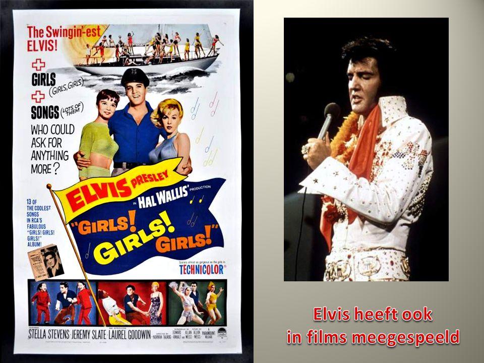 Elvis heeft ook in films meegespeeld