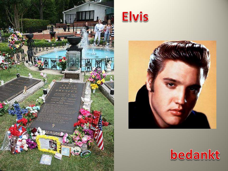 Elvis bedankt